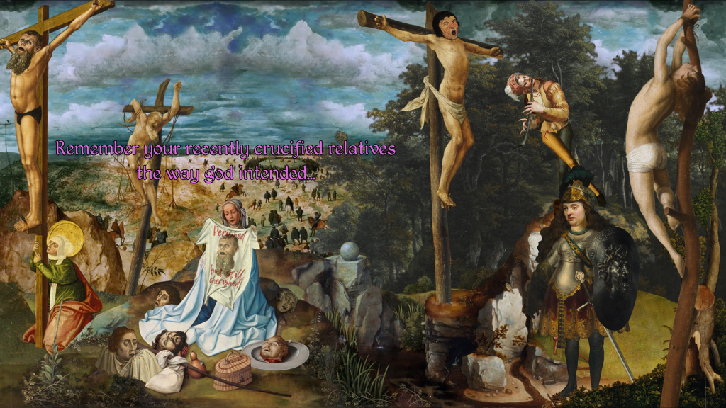 The Procession To Calvary 014